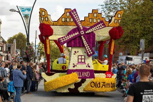 Evenementen Event parade bloemen Stroe Veluwe