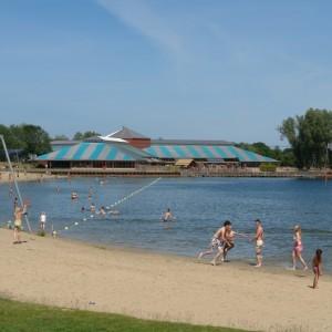 Zeumeren Strand meer waterpret camping Stroe Veluwe